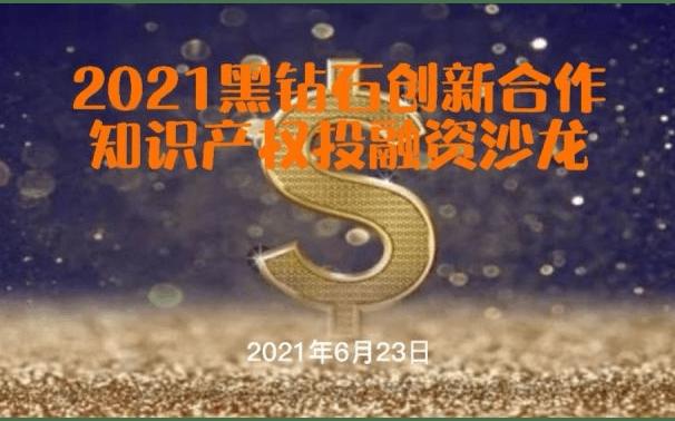 2021黑钻石创新合作-知识产权投融资沙龙