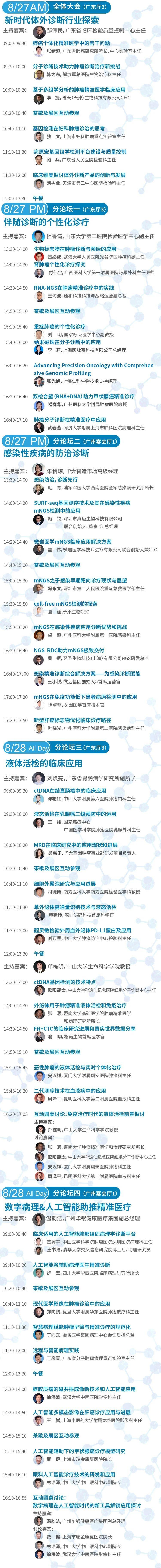 2021第六届基因检测和体外诊断大会