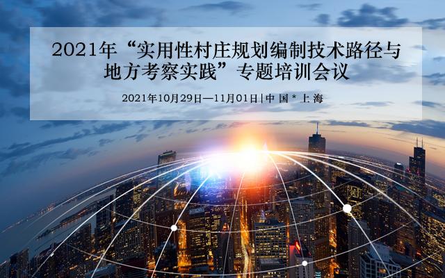 """""""实用性村庄规划编制技术路径与地方考察实践""""专题培训会议"""