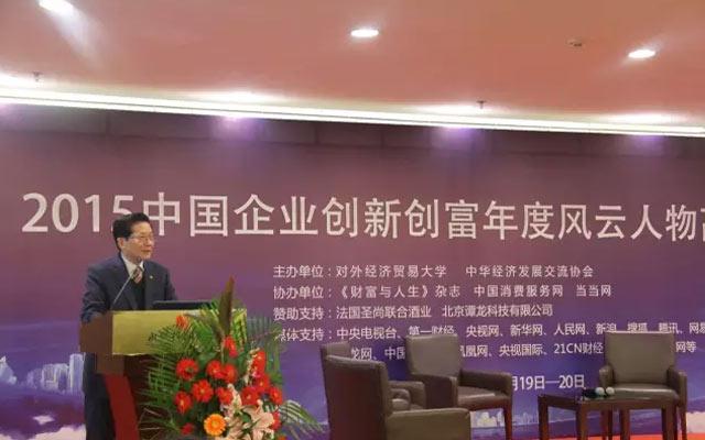 2015中国企业创富年度风云人物高峰论坛现场图片