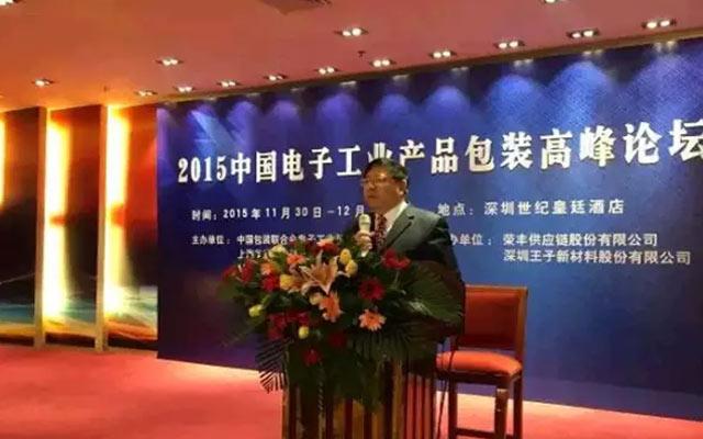 2015中国电子工业产品包装高峰论坛现场图片
