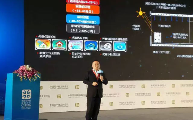 中国写字楼综合体发展论坛2015第十二届年会现场图片