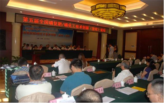 第五届全国磷复肥/磷化工技术创新(宜化)论坛现场图片