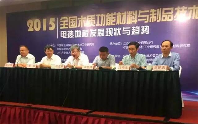 2015全国木质功能材料与制品技术论坛现场图片