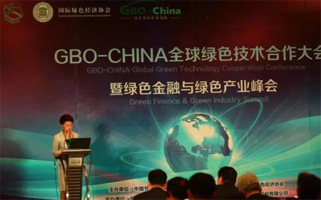 GBO-CHINA全球绿色技术合作大会暨绿色金融与绿色产业峰会现场图片