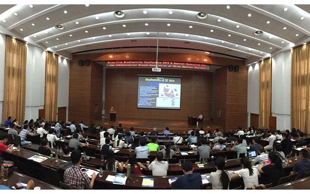 2015年亚洲鱼类多样性会议及鱼类学分会专题论坛现场图片
