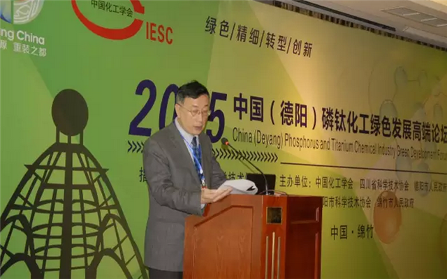 2015中国(德阳)磷钛化工绿色发展高端论坛现场图片