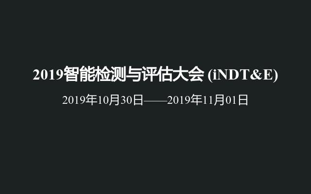 2019智能检测与评估大会(iNDT&E)