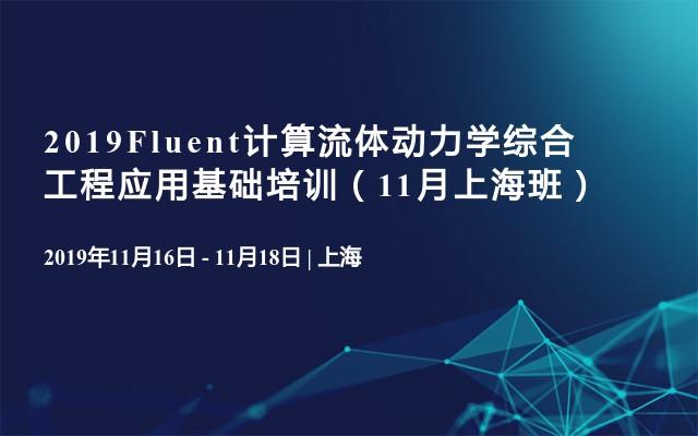 2019Fluent计算流体动力学综合工程应用基础培训(11月上海班)