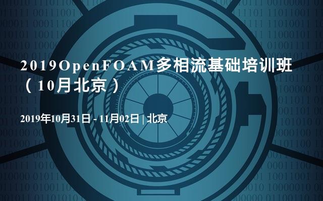 2019OpenFOAM多相流基础培训班(10月北京)