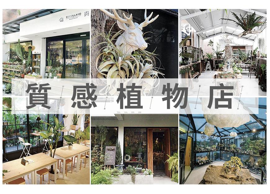 开店看台湾掀起新风潮,这6家「质感植物店」带给你独特开店灵感。